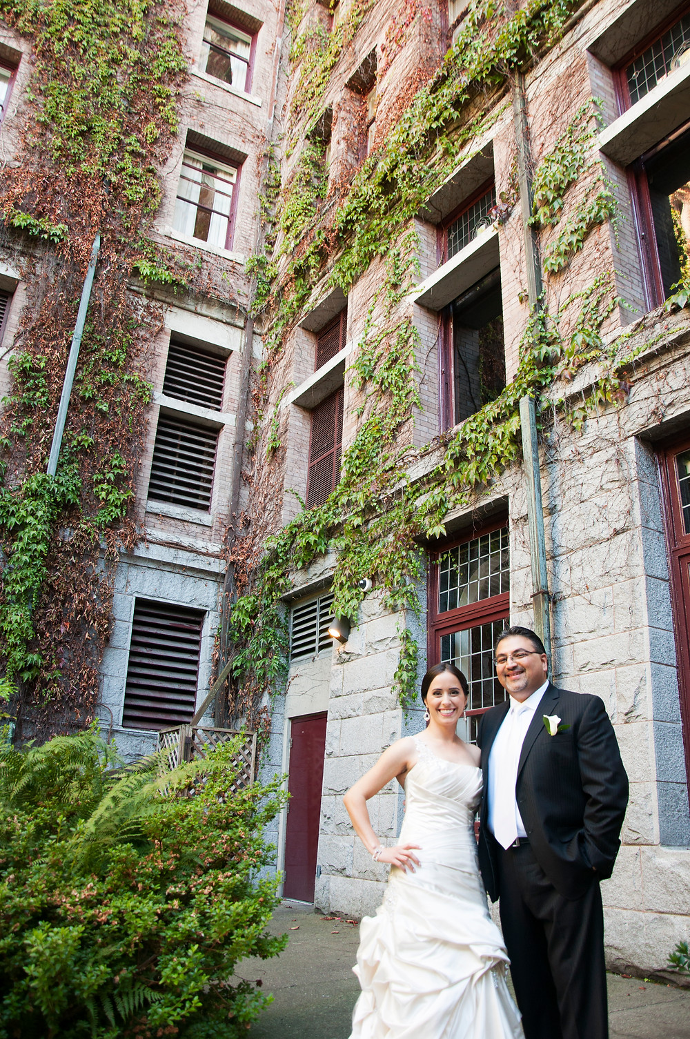 Melissa and Babak at The Empress Hotel in Victoria