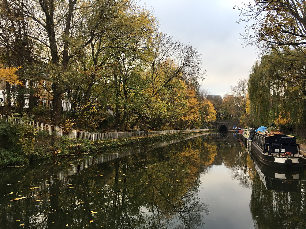 Paddington Basin Canal