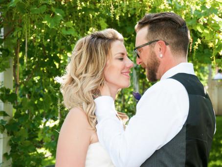 A Wedding In An Okanagan Orchard.