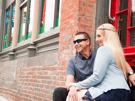 Tasha & Mark | Gastown Engagement Session