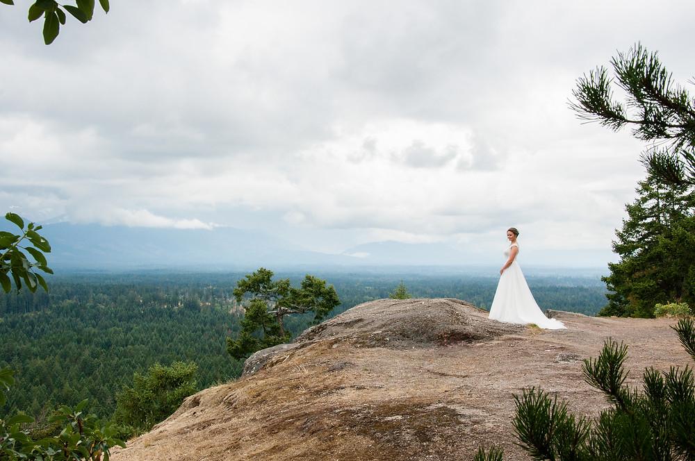 Bride on Little Mountain