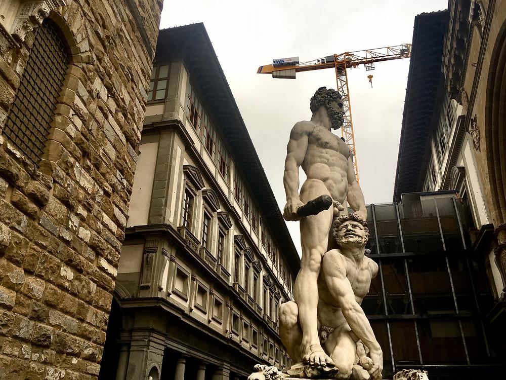 Some brutalism under construction