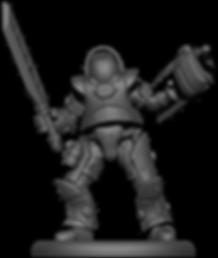 Rifleman 3D render