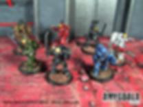 Astral Sailors sci-fi miniatures