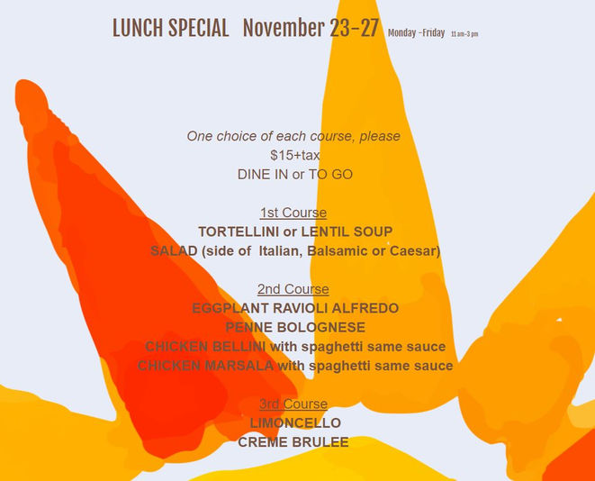 WEEKLYLUNCH SPECIAL nov 23-27-2020 FOR