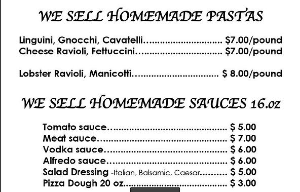 catering homemade pastas sauces 2020.JPG