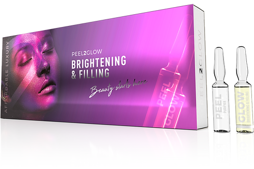 peel2glow 5x brightening/filling