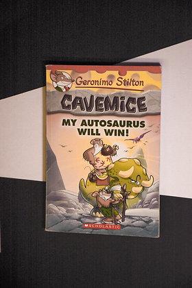 Geronimo Stilton, Cavemice, My Autosaurus Will Win!