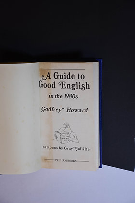 A Guide to Good English