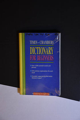 English Dictionary for Beginners - Times-chambers