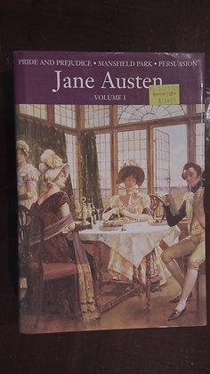 Pride and Prejudice, Mansfield park, Persuasion - Jane Austen