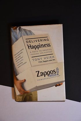 Delivering Happiness, a path to profits, passion and purpose - Tony Hsieh
