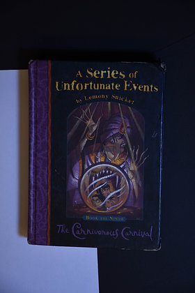 A Series of Unfortunate Events, The Carnivorous Carnival - Lemony Snicket