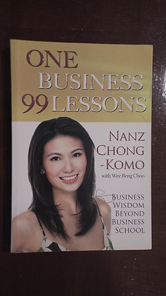 One Business 99 Lessons - Nanz Chong-Komo with Wee Beng Choo