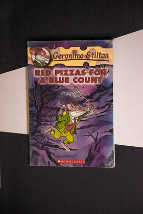 Geronimo Stilton, Red Pizzas For A Blue Count