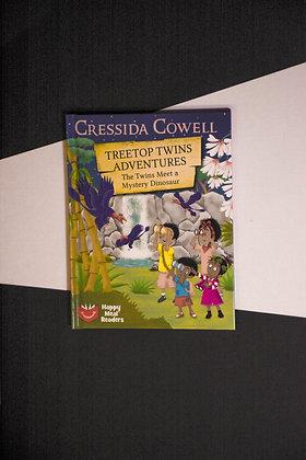Treetop Twins Adventures, The Twins Meet A Mystery Dinosaur - Cressida Cowell