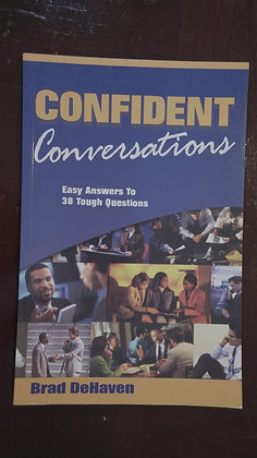 Confident Conversation - Brad DeHaven