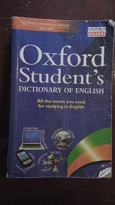 Oxford Student's Dictionary Of English