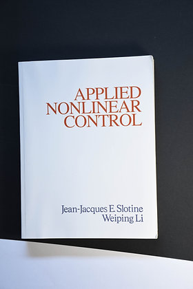 Applied Nonlinear Control - Jean-Jacques E. Slotine & Weiping Li