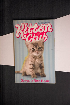 The Kitten Club, Ginger's New Home - Sue Mongredien
