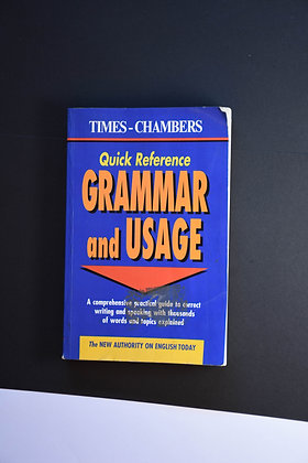 Grammar and Usage, Quick reference - Times Chambers