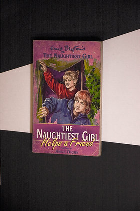 Enif Blyton, The Naughtiest Girl Helps A Friend - Anne Digby