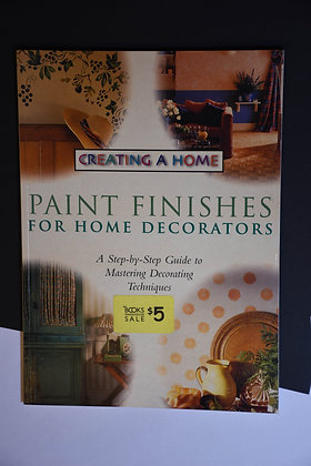 Paint Finishes for Home Decorators