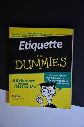 Etiquette for Dummies - Sue Fox