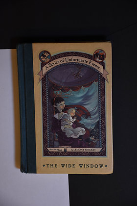 A Series of Unfortunate Events, The WIde Window - Lemony Snicket