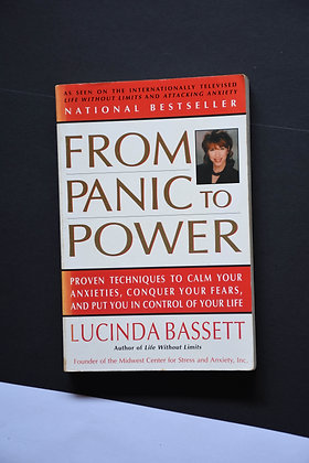 From Panic To Power - Lucinda Bassett