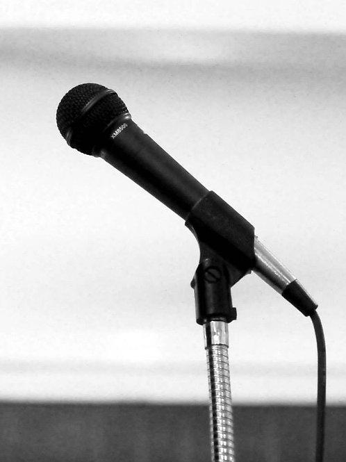 Spoken Word for Public Speaking- 2 Class Series