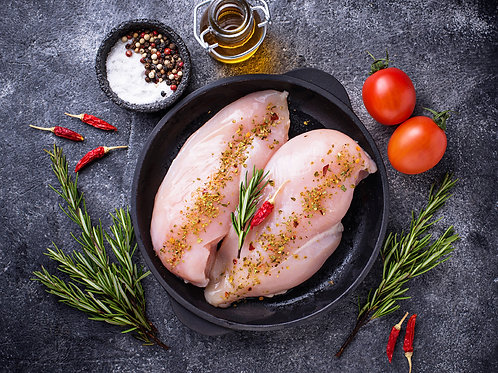 850g Chicken Breast Fillets - Skinless