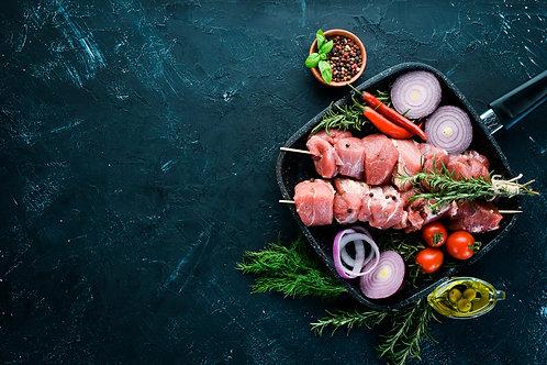 6 Lamb Sosatie Kebabs