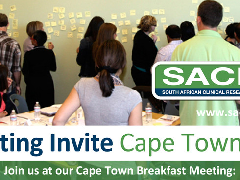 *ONE DAY TO GO* Friday 6th September - Cape Town SACRA Meeting at the TASK Training Centre.