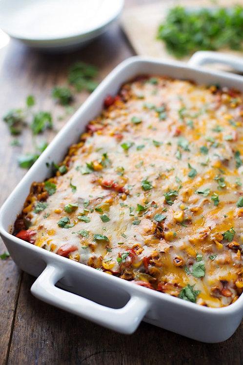 Chilli Con Carne Tortilla Sheet Bake