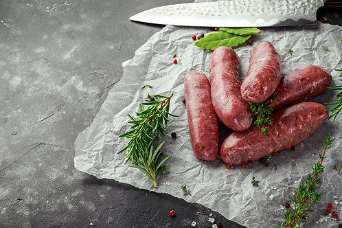 500g Lamb Sausage (Traditional) - Free Range