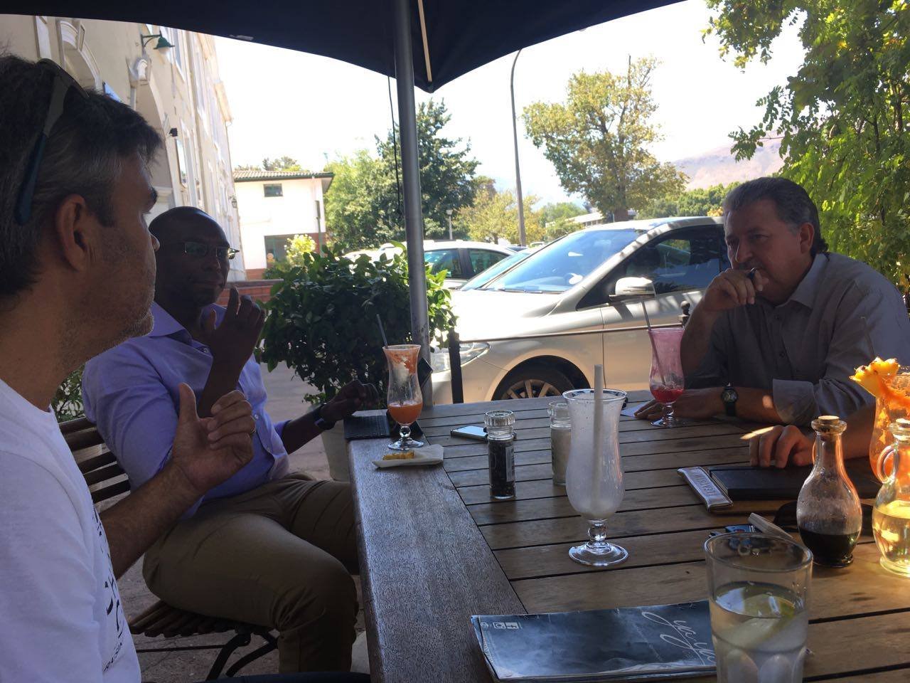 Networking in Cape Town