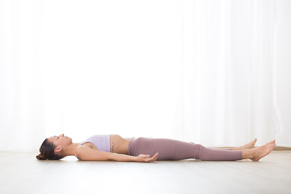 Canva - Portrait of Gorgeous Active Sporty Young Woman Practicing Yoga in Studio. Beautifu