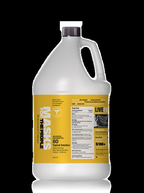 Gallon Size | Gel  Solution Hand Sanitizer