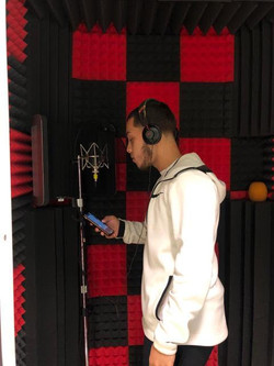 J-Clippers in the booth