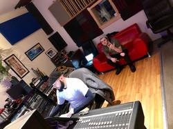 Novick working with Alex Costova