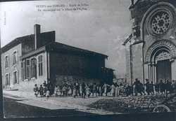 Ecole des Filles vers 1890