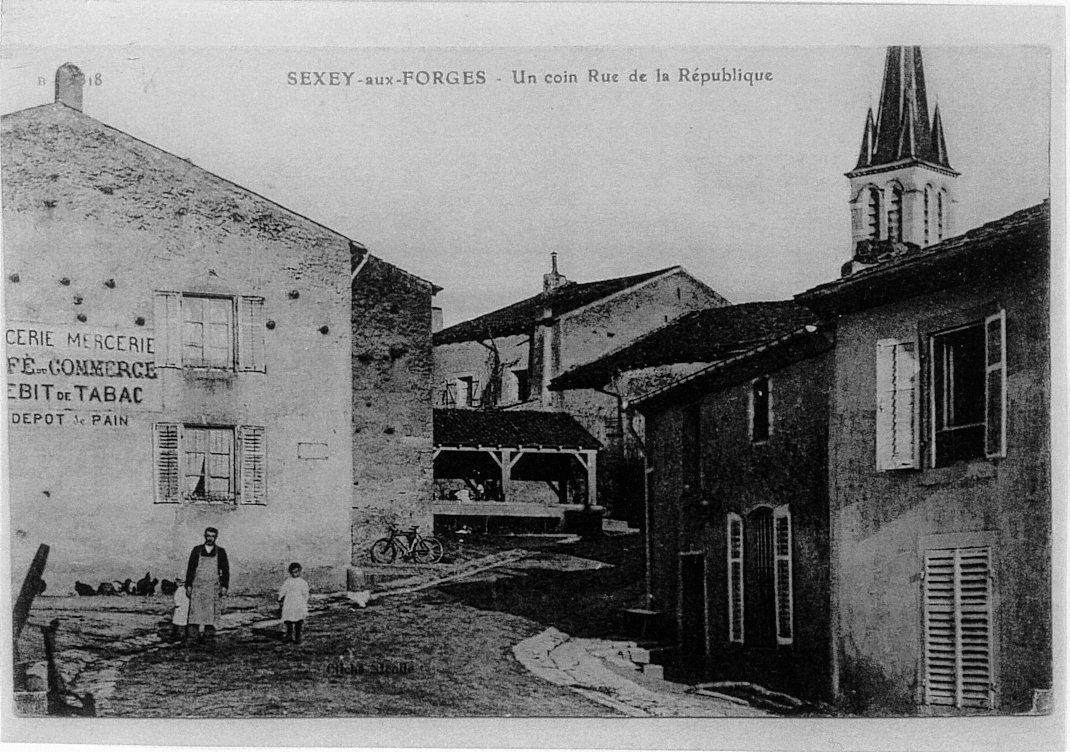 Rue de la République - lavoir