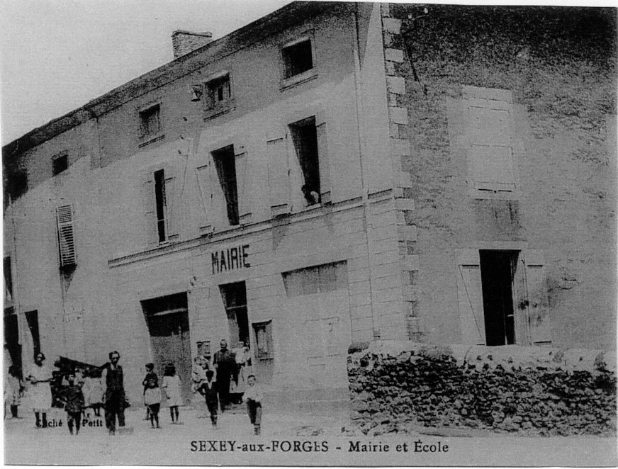 Marie-Ecole vers 1900