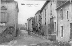 Rue Saint Hubert -1904