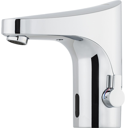 9000E Tronic, Electronic Basin Mixer with Side Temperature Control, WMS Enabled