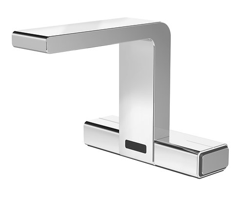 Senso lavatory faucet, IR-sensor, with electronic mixing, chrome