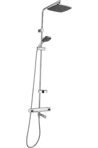 Siljan Thermostatic & Pressure Balanced Bath/Shower Kit