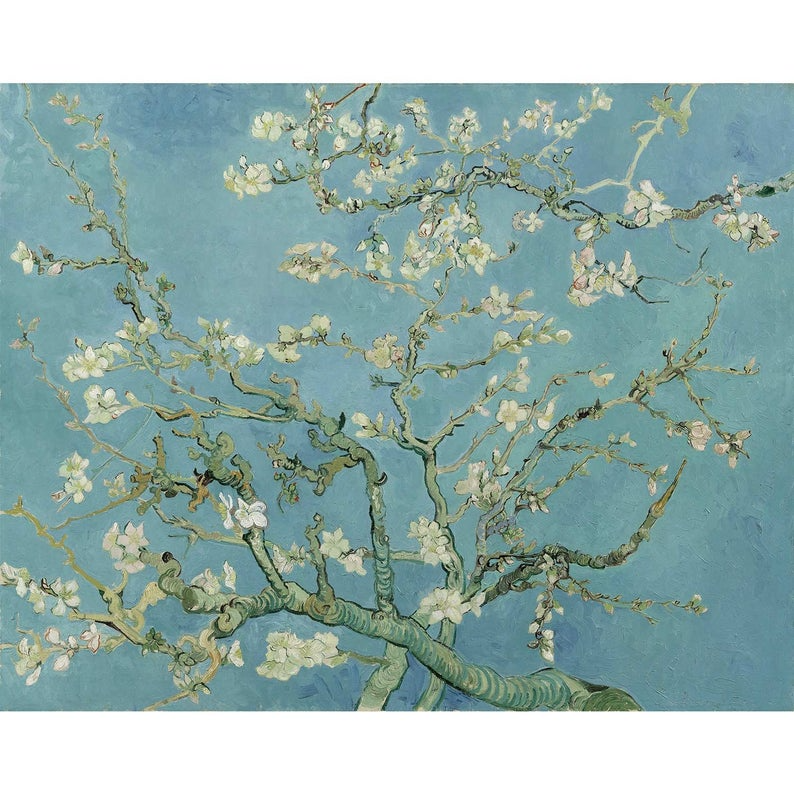 Blossoming Almond Tree by Vincent van Go