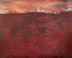 Amanecer. 65 x 81 cm. Tecnica mixta